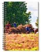 The Harvest Impasto Spiral Notebook