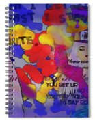 The Hatter Spiral Notebook