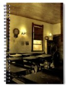 The Haunted Classroom Spiral Notebook