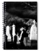 The Haunting Shadows Spiral Notebook