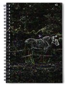 the Hawk and the Paso Fino Spiral Notebook