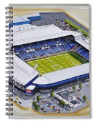 The Hawthorns - West Bromwich Albion Fc Spiral Notebook