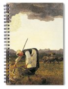 The Hay Harvest  Spiral Notebook