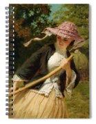 The Haymaker Spiral Notebook