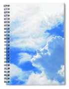 The Head In The Clouds Spiral Notebook