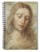 The Head Of Christ Spiral Notebook