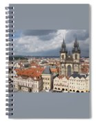 The Heart Of Old Town Spiral Notebook