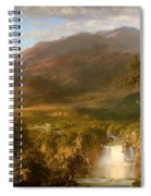 The Heart Of The Andes Spiral Notebook