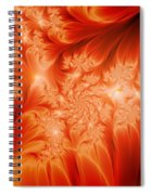The Heat Of The Sun Spiral Notebook