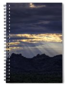 The Heavenly Light  Spiral Notebook