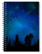 The Heavens Are Declaring Gods Glory Mural Spiral Notebook