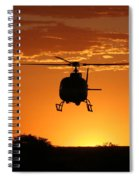 The Helicopter Spiral Notebook