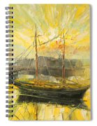 The Heraklion Harbour Spiral Notebook