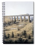 The High Bridge Near Farmville, Prince Spiral Notebook
