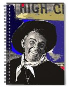 The High Chaparral Cameron Mitchell Publicity Photo Number 1 Spiral Notebook