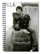 The High Chaparral Henry Darrow Publicity Photo Number 3 Spiral Notebook