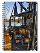 The Highways And Byways Of Shrimping Spiral Notebook