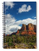 The Hills Of Sedona  Spiral Notebook