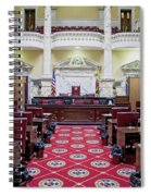 The Historic House Chamber Of Maryland Spiral Notebook