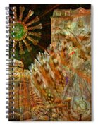 The History Of Consciousness Spiral Notebook