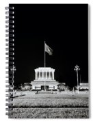 The Ho Chi Minh Mausoleum In Hanoi Spiral Notebook