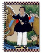 The Hobby Horse Spiral Notebook