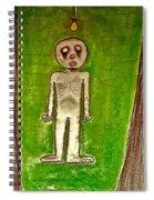 The Hollow Men 88 - Lone Idea Spiral Notebook