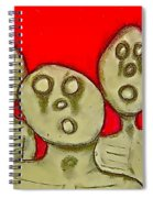 The Hollow Men 88 - Three Walkers Spiral Notebook