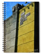 The Hollywood Heights Hotel Spiral Notebook