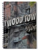 The Hollywood Hotel Signage Spiral Notebook