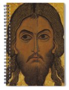 The Holy Face Spiral Notebook