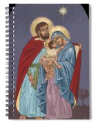 The Holy Family For The Holy Family Hospital Of Bethlehem Spiral Notebook