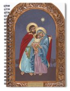 The Holy Family For The Holy Family Hospital Of Bethlehem With Frame Spiral Notebook
