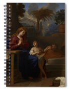 The Holy Family In Egypt Spiral Notebook