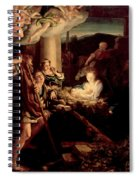 The Holy Night Spiral Notebook