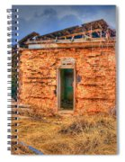The Homestead 3 Spiral Notebook