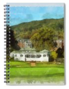 The Homestead Country Club Spiral Notebook