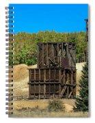 The Hoosier Mine Spiral Notebook