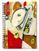 The Horn Player Spiral Notebook