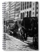 The Horse And Buggy Lineup Spiral Notebook