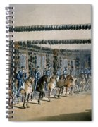 The Horse Armour Tower, Print Made Spiral Notebook