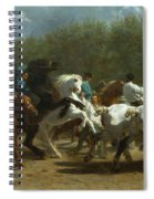 The Horse Fair Spiral Notebook