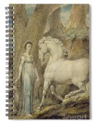 The Horse Spiral Notebook
