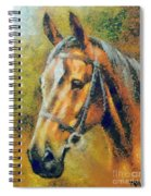 The Horse's Head Spiral Notebook