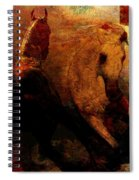 The Horses Of Mars Spiral Notebook