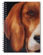 The Hound Spiral Notebook