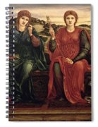 The Hours, 1870-82 Spiral Notebook