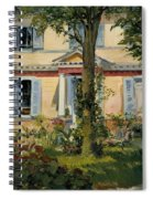 The House At Rueil Spiral Notebook