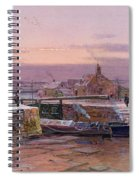 The House By The Canal Spiral Notebook