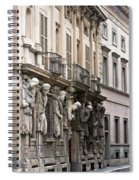 The House Of Omenoni Milan Italy Spiral Notebook